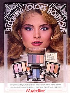 vintage 80s makeup ad - Google Search