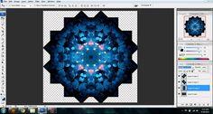 Cool, easy way to make mandalas by--ohitsay--how I make my mandalas | leaf-inthewind