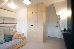 Attic Renovation by Batiik Studio