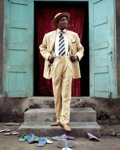 Great Sapeur style in Congo 'The Society for the Advancement of Elegant People'