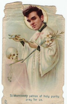 St.Morrisey patron of Holy Purity pray for Us