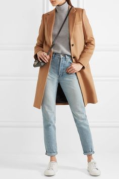 Joseph - Wool And Cashmere-blend Coat - Camel - FR36
