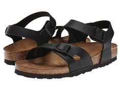 Birkenstock Rio Womens Sandal 42 M EU Black * Review more details here (This is an amazon affiliate link. I may earn commission from it)