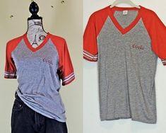 57619d666b8 Vintage 80s Coors T shirt size L