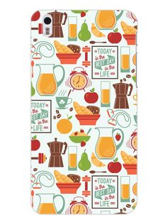 Breakfast - Designer Mobile Phone Case Cover for HTC 816