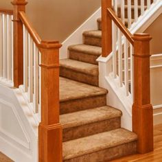 Closed Stringer Half Wall Staircase Like Ours Banisters Pinterest Low Ceilings