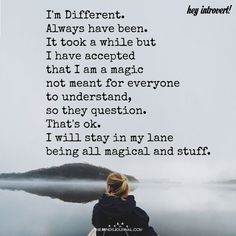 I'm Different - https://themindsjournal.com/im-different-2/