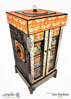 The Gentleman Crafter: CHA Project: Curious Cabinet