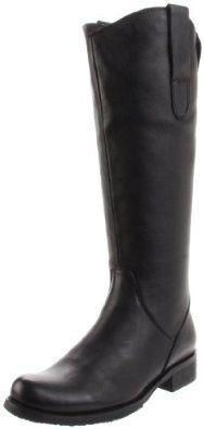 Amazon.com: Miz Mooz Women's Kent Knee-High Boot,Black,9.5 M US: Shoes