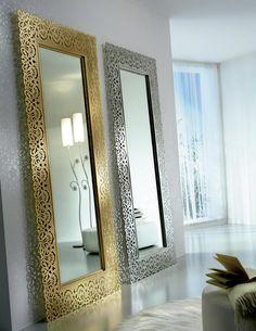 Ideas de decoración. Decorar las paredes con espejos.