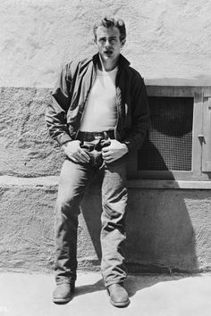 In honor of James Dean's birthday take a look at his best looks that paved the American bad boy style.