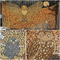 Have you prepared your wood for the winter? Even with it, you can create interesting creations http://veu.sk/index.php/aktuality/1573-napilili-ste-si-drevo-na-zimu-aj-s-nim-mozete-vytvarat-zaujimave-kreacie.html #wood #winter #diy