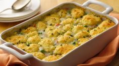 Gluten-Free Hearty Chicken Pot Pie... Enjoy this scrumptious chicken pot pie packed with veggies and herbs- a hearty casserole.