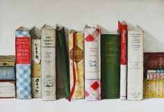 Cookbooks, Holly Farrell  I love this painting/print!