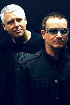 #U2 - Bono and Adam