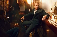 Annie Leibovitz Photography: Kevin-McKidd for Macallan Whisky - Love the suit.