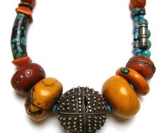 Tory Hughes, Berber Chic Necklace, 2005-2010  http://polymerartarchive.com/2011/08/24/spit-and-polish/