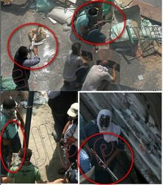 Muslim Brotherhood members using lethal weapons against police forces at Raba square #egypt