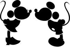 Manualidades, decoración, pintura...: Mickey y Minnie