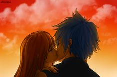 Explore the Erza x Jellal collection - the favourite images chosen by Whysolittlechoice on DeviantArt. Kuroko, Erza Et Jellal, Erza Scarlett, Christmas Doodles, Anime Art Fantasy, Fariy Tail, Plantagenet, Jerza, Fairy Tail Couples