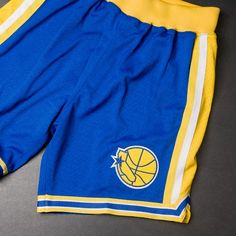 Mitchell & Ness NBA Authentic Shorts (Golden State Warriors) $125