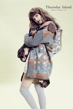twenty2 blog: Yoon Seung Ah for Thursday Island Fall 2013 Catalogue | Fashion and Beauty