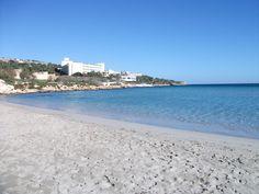 Mellieha Bay, Malta - I wish I was there again now. Mellieha Bay, Malta - I wish I was there again n Wish I Was There, I Wish, Travel Around The World, Around The Worlds, Places Ive Been, Places To Go, Uk Destinations, Malta, Archipelago