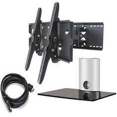 Swivel tilt wall mount bracket for 15 19 22 24 led lcd for Cool tv wall mounts