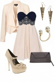 We love this girly outfit #gorgeous #cute