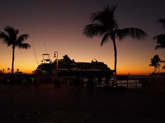 Holland-America line, leaving from Key West