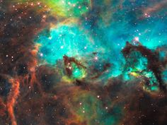 justspace:    NGC 2074   js I could stare into the darkness of space for hours if there was not so much light all around enjoy the views