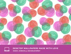 Lovely desktop wallpapers from DesignLoveFest