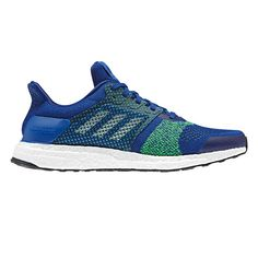 0e55f2c469f74 Adidas Men s Ultra Boost ST Running Shoes Royal White Shock Lime Mens Ultra  Boost