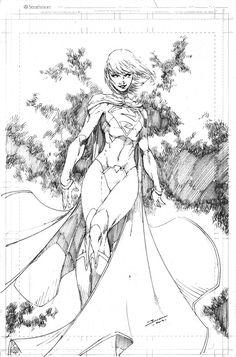 Supergirl by Brett Booth