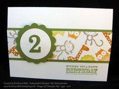Fox and friends - Birthday card : Kristina's Blog