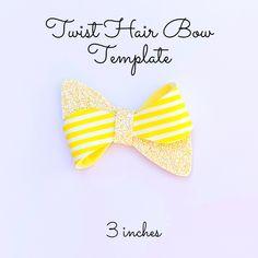 Making Hair Bows, Diy Hair Bows, Bow Template, Templates, Halloween Bows, Felt Bows, Glitter Fabric, How To Make Hair, Svg Cuts