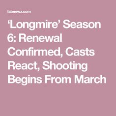 'Longmire' Season 6: Renewal Confirmed, Casts React, Shooting Begins From March