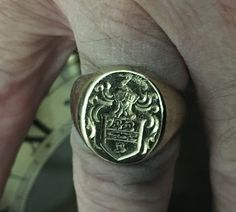Kennedy Crest Ring