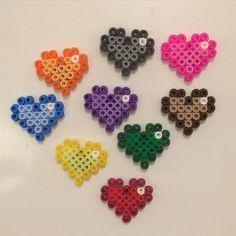 Resultado de imagen de letras con hama beads