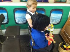 Image result for aeroplane role play area