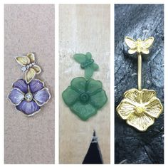 Wax Ring, Antique Gold, Jewelry Art, Diamond Jewelry, Belly Button Rings, Hand Carved, Jewelery, Handmade Jewelry, Jewelry Making