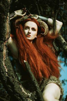 goddess of hunting by DaeJoon.deviantart.com on @deviantART