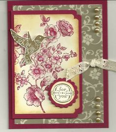 CC383, Color Challenge by barbaradwyer82 - Cards and Paper Crafts at Splitcoaststampers - SU Elements of Style