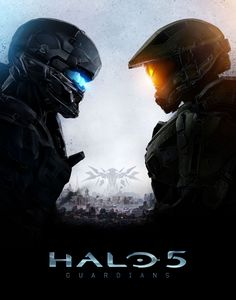 The official cover artwork for Halo 5: Guardians has been revealed via an animated poster for the FPS.