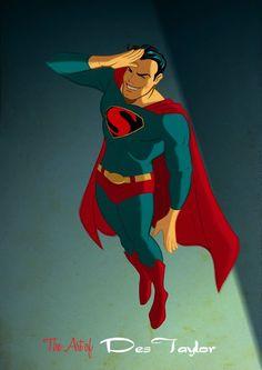Wickedly Cool 1940's Retro Superhero Pop Art — GeekTyrant