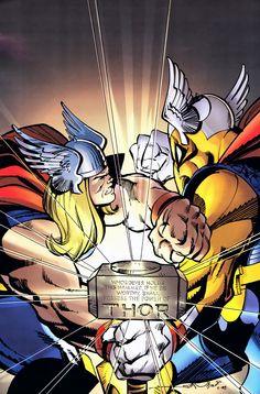 Thor vs Beta Ray Bill