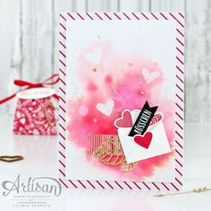 The Sealed with Love stamp set is perfect for Valentines. - Sylwia Schreck