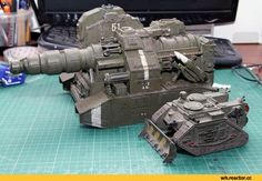 Warhammer 40000,warhammer40000, warhammer40k, warhammer 40k, ваха, сорокотысячник,фэндомы,Miniatures (Wh 40000),Wh conversion,Squats,Old Warhammer,Imperium,Империум,Super-heavy