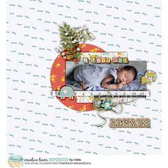 #joycreated with BABY LOVE Digital scrapbooking kit by ForeverJoy Designs
