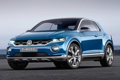 Official: Volkswagen T-Roc Concept unveiled with an eye toward production